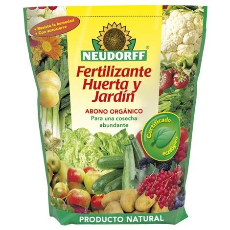 Fertilizante huerta