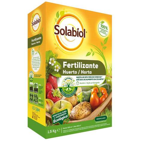 Fertilizante Huerto Solabiol 1,5 Kg