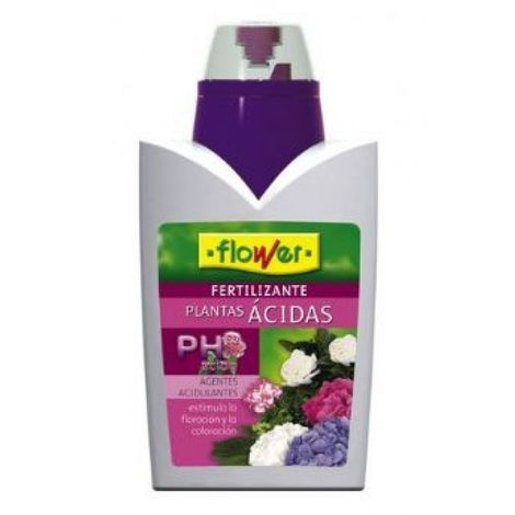 Fertilizante líquido plantas ácidas 500 ml Flower