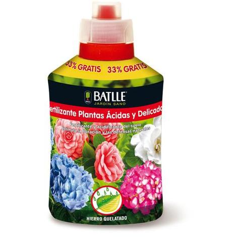 Fertilizante Plantas ácidas Y Delicadas, 400 Ml
