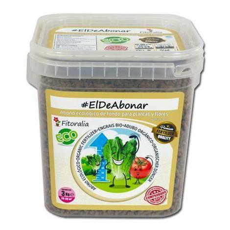 Fertilizante sólido Eco #eldeabonar 3 kg