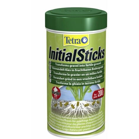 Fertilizante TETRA INITIAL STICKS 250ml para plantas de acuario