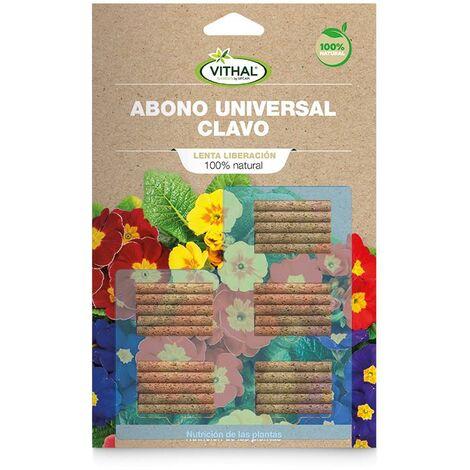 Fertilizante universal clavo Eco Vithal Garden 50 g