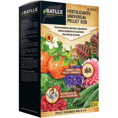 Fertilizante universal pellet Eco Batlle