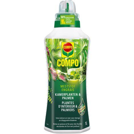 Fertilizantes plantas dentro y palmeras líquido Compo - 1L