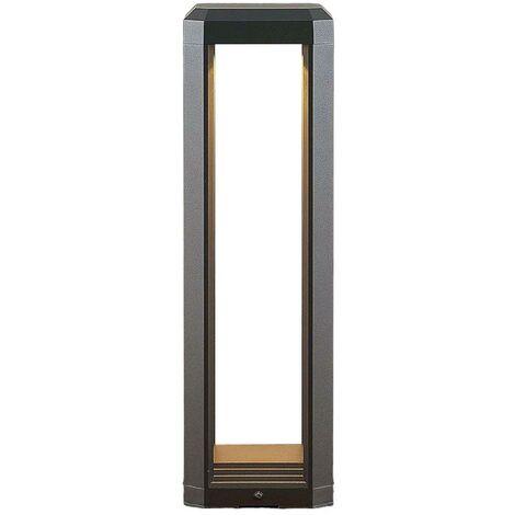Fery LED pillar light in anthracite, 50 cm