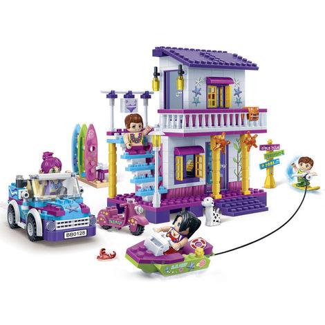 Festa in spiaggia BanBao 6125 Costruzioni combinabili con i mattoncini LEGO