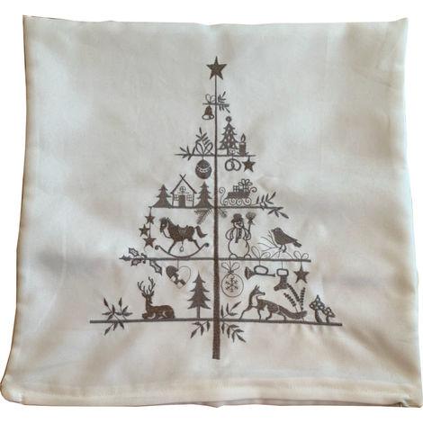 Festive Christmas Cushion Cover 43x43cm