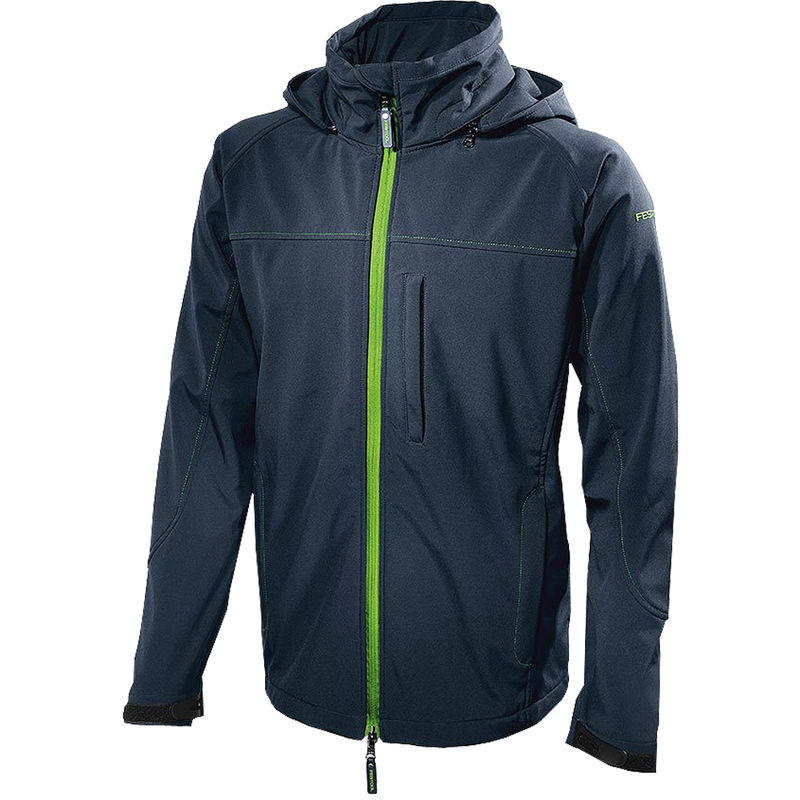 Image of 204056 Soft Shell Jacket Dark Blue Small Size (S) - Festool