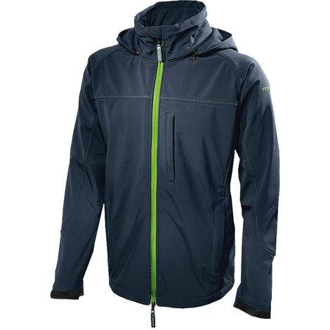 Festool 204056 Soft Shell Jacket Dark Blue Small Size (S)
