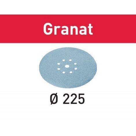 FESTOOL 25 Abrasifs 225 mm Granat laque peinture pour LHS225