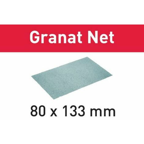 Festool Abrasif maillé STF 80x133 P80 GR NET/50 Granat Net