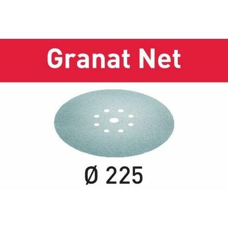 Festool Abrasif maillé STF D225 P180 GR NET/25 Granat Net - 203316