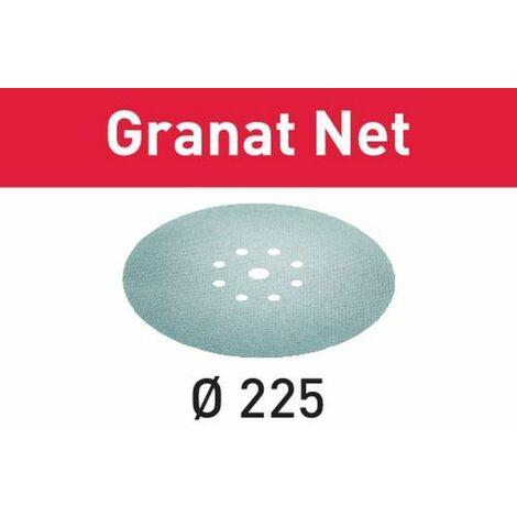 Festool Abrasif maillé STF D225 P80 GR NET/25 Granat Net - 203312