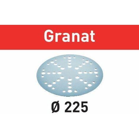 Festool Abrasif STF D225/48 P40 GR/25 Granat, 25 pcs. - 205653