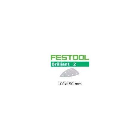 FESTOOL Abrasifs 100x150mm STF DELTA/7 - Brilliant 2