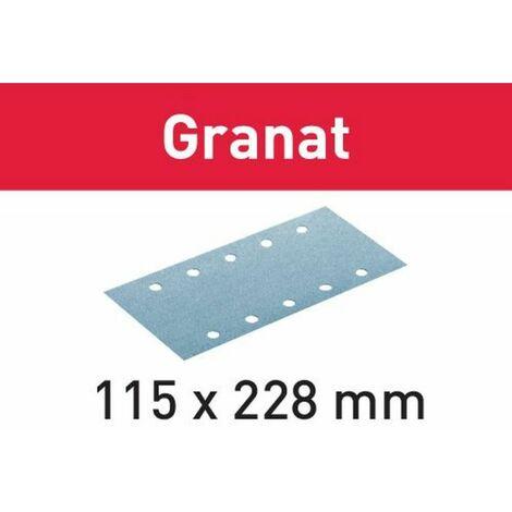 Festool Abrasifs STF 115X228 P80 GR/50 Granat2