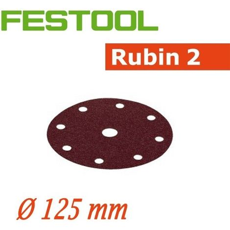FESTOOL Abrasifs STF Ø 125/90 RU2