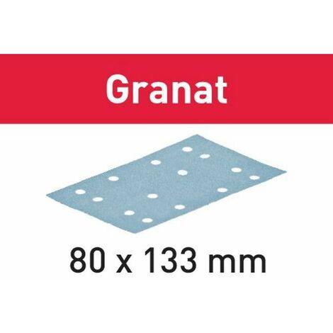 Festool Abrasifs STF 80x133 P180 GR/100 Granat