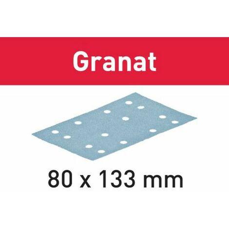 Festool Abrasifs STF 80x133 P220 GR/100 Granat