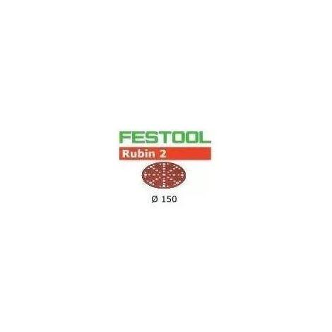 Festool Abrasifs STF D150/48 P220 RU2/50 Rubin 2 - 575193