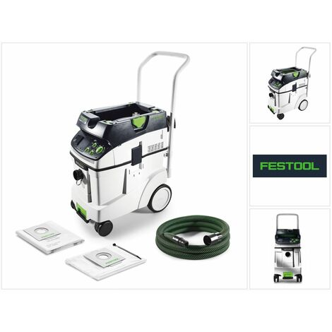 Festool Aspirateur mobile CTM 48 E AC CLEANTEC 48 litre Autoclean de classe M ( 574991 )