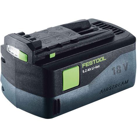 Festool BP 18 Li 5,2 AS 18v 5.2Ah Li-ion AIRSTREAM Battery 200181