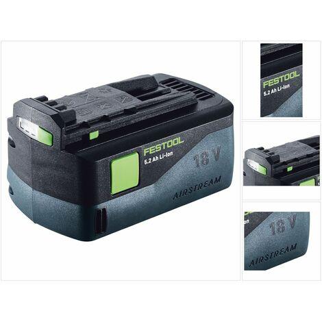 Festool BP 18 Li 5,2 AS Batería de iones de litio 18 V 5,2 Ah con tecnología Airstream ( 200181 )