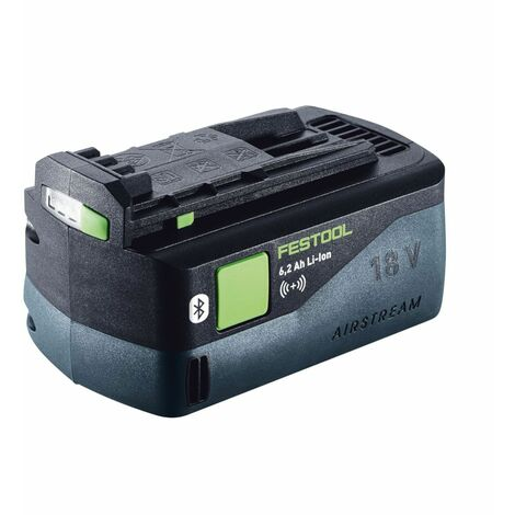 Festool BP 18 Li 6,2 ASI Batteria agli ioni di litio con Bluetooth da 18 V 6,2 Ah ( 201797 )