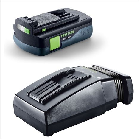 Festool C 18 Li-Basic Perceuse-visseuse sans fil avec boîtier Systainer + 1x batterie BP 18 Li 3,1 C + Charger rapide TCL 6