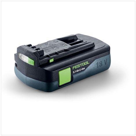 Festool C 18 Li-Basic Perceuse-visseuse sans fil + Boîtier Systainer + 1x Batterie BP 18 Li 3,1 C - sans Chargeur