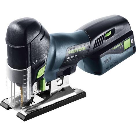 Festool Caladora de péndulo a batería PSC 420 Li 5,2 EBI-Set CARVEX