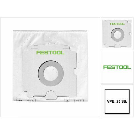 Festool CLEANTEC FIS-CT SYS/25 Sacs filtre - 25 pièces ( 500438 ) pour Aspirateurs CTL-SYS