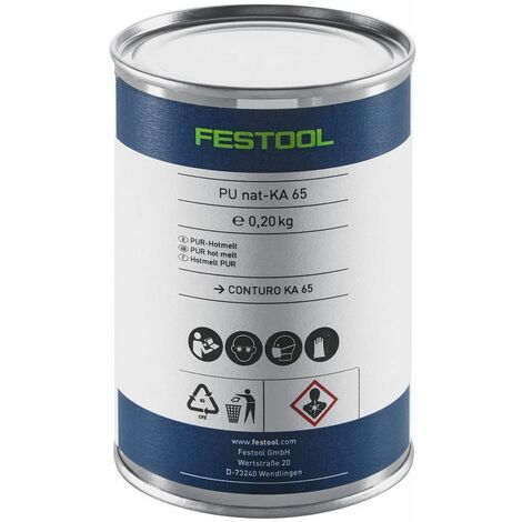 Festool Colle PU transparente PU nat 4x-KA 65 - 200056