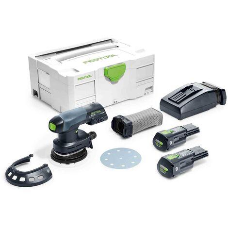 Festool Cordless Eccentric Sander ETSC 125 Li 3,1ah I-Plus