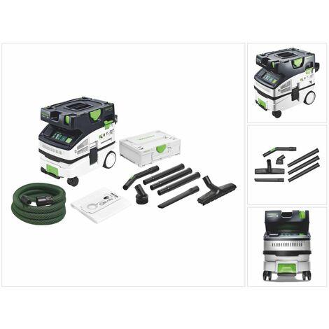 Festool CTL MINI CLEANTEC Aspirateur mobile + Kit de nettoyage compact Festool D 27 / D 36 K-RS-Plus + Systainer