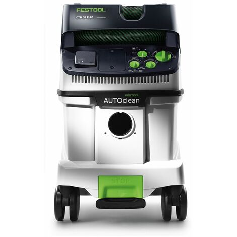 Festool CTM 36 E AC CLEANTEC Aspirateur mobile 36l de classe M ( 574983 ) + Kit de nettoyage universel D 36 UNI-RS-Plus + Coffret de transport Systainer