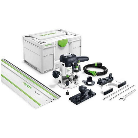 FESTOOL Défonceuse 1010W Ø6-8 mm Var.élec.- OF1010EBQ-Set - 574375