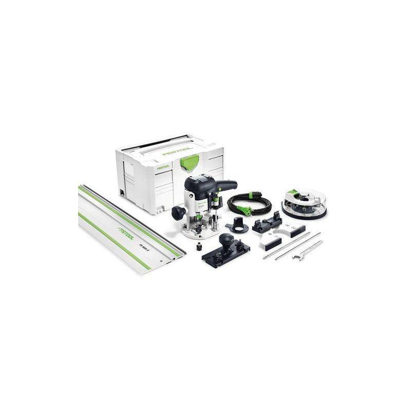 Festool Défonceuse OF 1010 EBQ-Set + Box-OF-S 8/10x HW - 574384