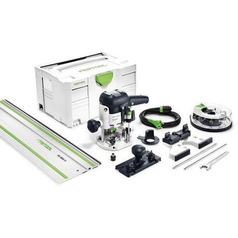 Festool Défonceuse OF 1010 EBQ-Set + Box-OF-S 8/10x HW - 574384
