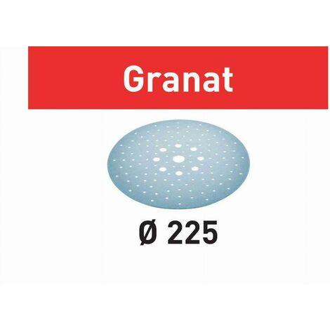 Festool Disco abrasivo STF D225/128 P180 GR/25 Granat