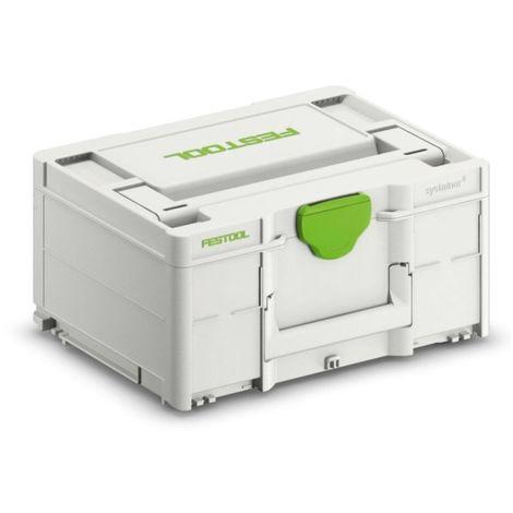 Festool DRC 18/4 Li-Basic QUADRIVE Taladro atornillador a batería ( 574695 ) en Systainer + 1x Batería BP 18 Li 3,1 C ( 201789 ) + 1x Cargador TCL 6 ( 201135 )