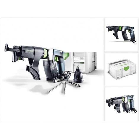 Festool DWC 18-2500 Li Basic Akku Bauschrauber im Systainer mit Magazinvorsatz ohne Akku ohne Ladegerät ( 574742 )