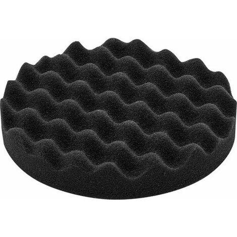 Festool 5x Éponge de polissage 80 mm très fin noir Gewaffelt 202017 Velcro PS STF d8