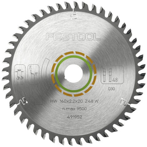 Festool Feinzahn-Sägeblatt 160 x 2,2 x 20 W48