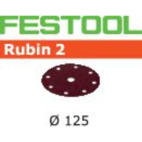 FESTOOL - Festool Disco de lijar STF D125/8 P40 RU2/50