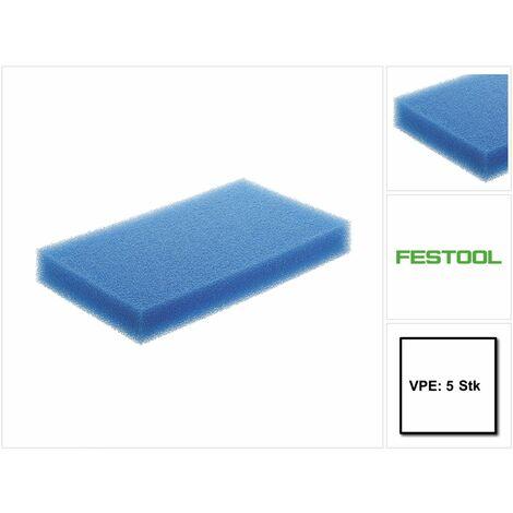 Festool Filtres pour liquide NF-CT 26/36/48 - 5 pièces ( 5x 496169 )