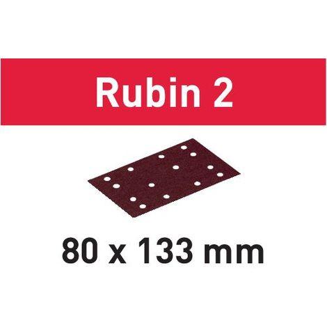Festool Foglio abrasivo STF 80X133 P220 RU2/50 Rubin 2