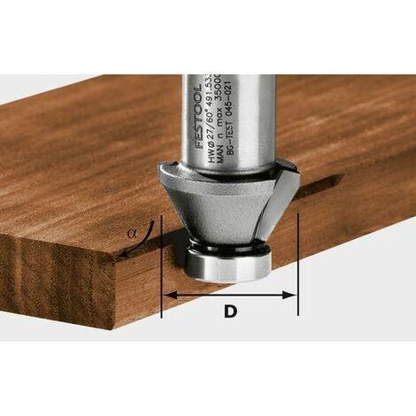 Festool Fraise à chanfreiner HW 45°-OFK 500 - 490090
