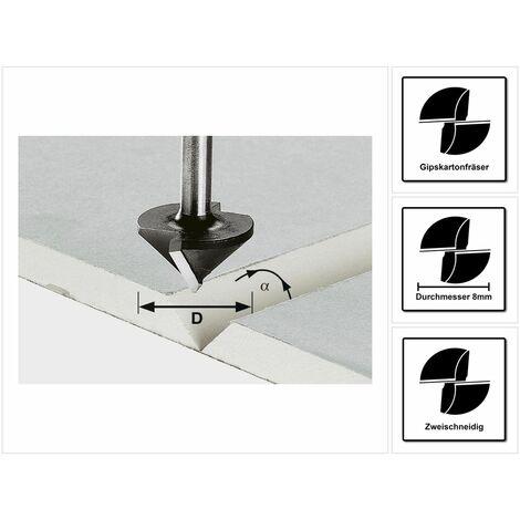 Festool Fresa para placas de pladur HW S8 D32/90° ( 491001 )